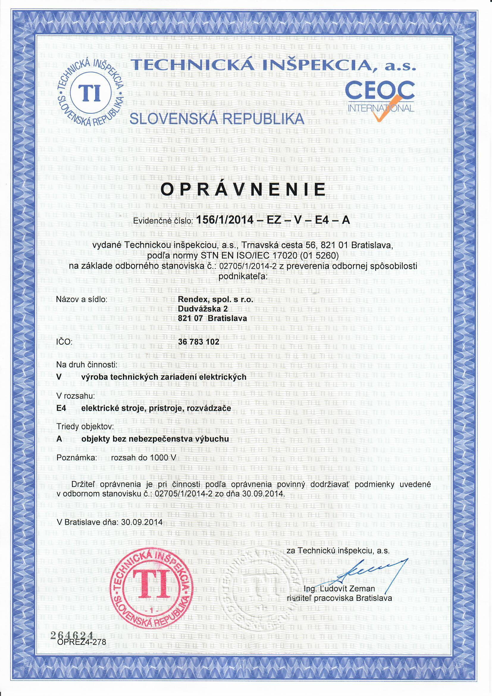 rendex.sk/opravnenie-vyroba-rozvadzacov